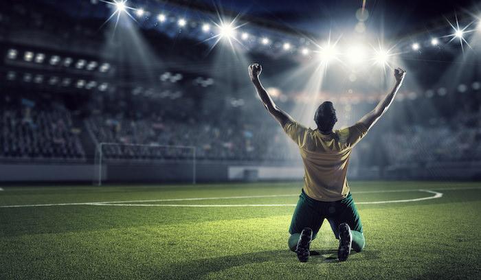 サッカー優勝