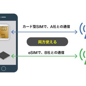 eSIMとカードSIM